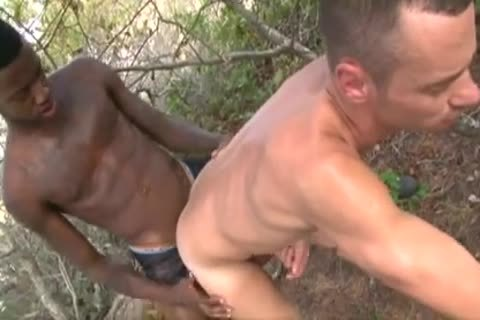 Interracial nakedback big black dick