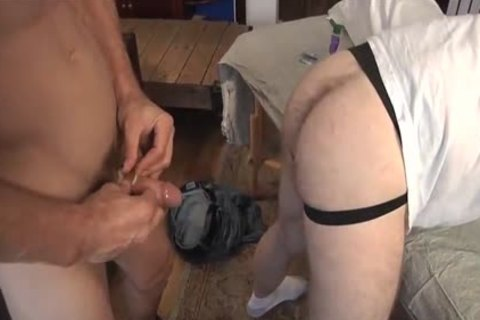 daddy slams A curly anal