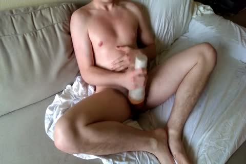 Masturbating With Oils, Fleshlight, And P Spot Mbootyager