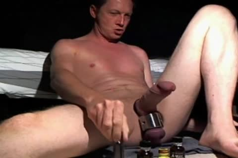 Playin At Home With Ballweight On - Usin Some Of My favorite Dildos And Sniffin Poppers