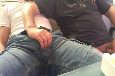 I Had Loads Of enjoyment Playing With This lad's Bulge And Swallowing His gigantic cock. oral sex Starts At Around 5 Mins