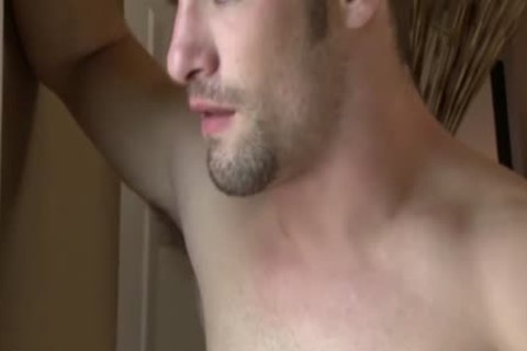 Cody Cummings Jerks Off while Spying On A gorgeous chap