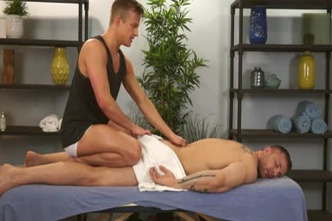 Austin Wolf And Skylar West In A beautiful gay Porn Massage