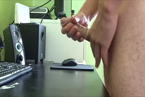 jerking off Into A penis-sock Two Times For An Xtube Fan Then Sent It To Him By Post.