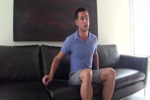 HD GayCastings - sweet Straight guy With thick ramrod try-out For homosexual Porn