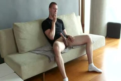 lengthy Lasting Slow Jack Off Session With A