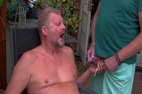 David Comes Over For Some enjoyment In The Garden And In The Bedroom Too And I receive His large ramrod In My booty Hoooo Did It Feel worthy