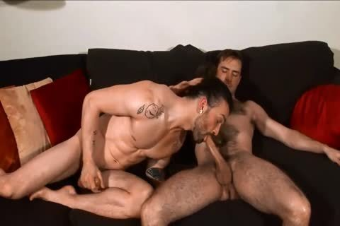 darksome-haired boyz sucking And plowing.