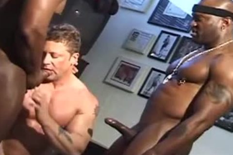 Jim Slade - Interracial 3some