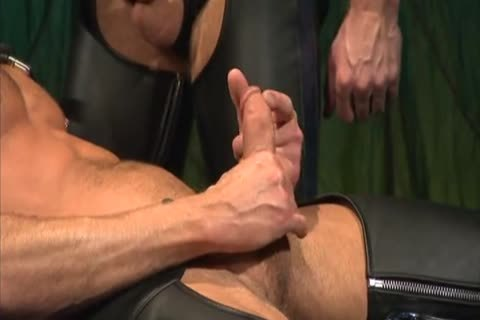 Leather banging And Fisting: Colin Steele & Rick Van Sant