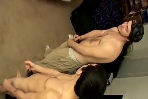 Three males Meet Up For A stroking