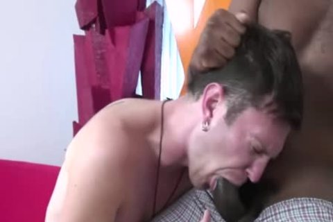 Luke Cross Makes Quick specie By nailing A black twink