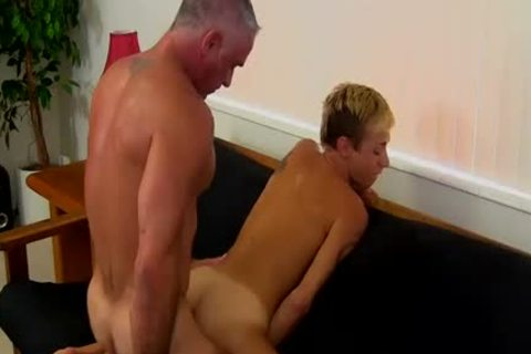 older Hunk bangs twinks taut anal