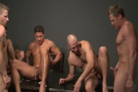 Muscle homosexual oral sex And cream flow