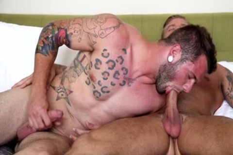 Muscle gay ass job And sex cream flow