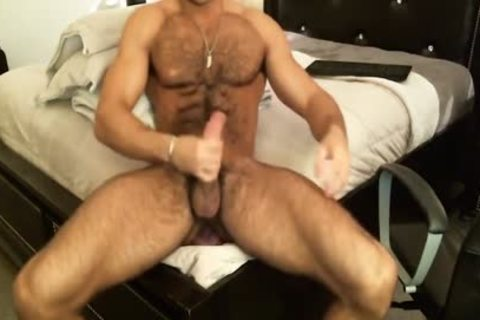 Hunk Sean Zevran toys His butthole And Cums On web camera