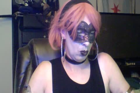 pretty Dancing Goth CD cam Show (part 2 Of 2)
