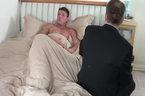 large guy acquires A spanking