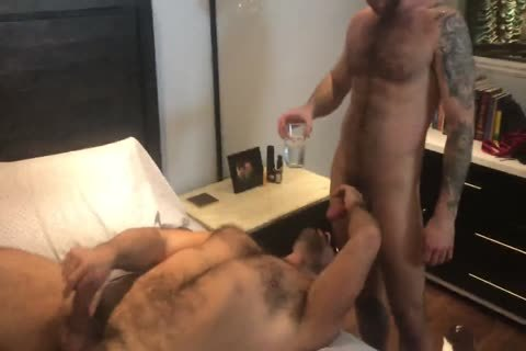Nigel March pounds Teddy Torres