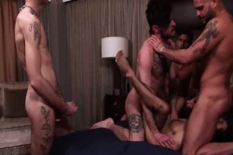 Ty Mitchell group sex