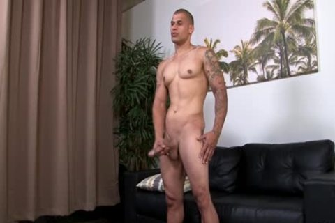 Hung pumped up Hunk Stroking His enormous Uncut 10-Pounder