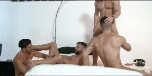 The Weekend Away - Paddy O'Brian and Hector De Silva anal Hump