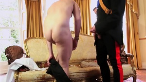 A Royal Fuckfest - Connor Maguire and Paul Walker butthole Hook up
