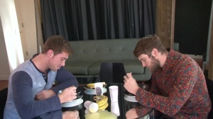 Look What The boys Dragged In - Colby Keller with Connor Maguire anal job