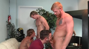 Swingers - Cameron Foster & Bennett Anthony butthole sex