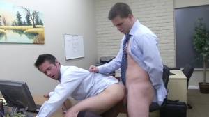 The Office whore 2 - Mike De Marko & Jimmy Johnson anal Nail