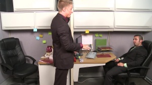 The Annoying Colleague - Diego Vena and Philip Aubrey butthole Nail