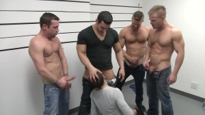 The Line Up - Landon Conrad and Trevor Knight anal Hook up