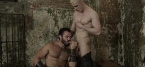 gay Of Thrones - Jessy Ares and JP Dubois ass poke