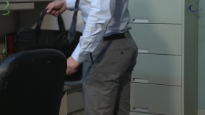 Office Party Regrets - Rocco Reed and Liam Magnuson ass Hump