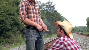 Going West - Johnny Rapid and Robbie Rivers anal Nail