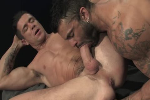 Rogan Richards pounds Trenton Ducati