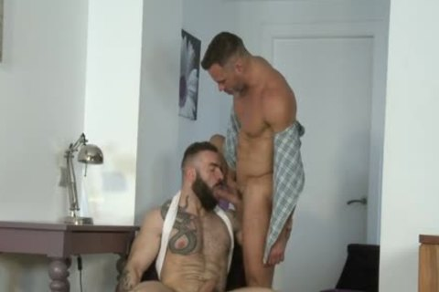 Manuel Skye & Max Hiltom pounding Each Other in nature's garb