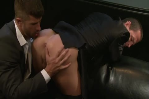 Adam Killian Takes Off His Suit To pound A Hunk