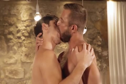 GayRoom - Dylan Knight pounded By A Plunger And Peter Fields enormous dick