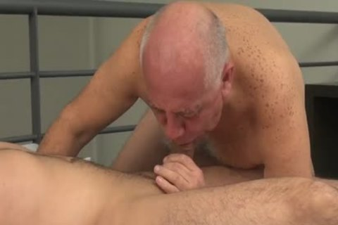 grandpa Borja Sucks, Rims & acquires pounded By Daddy