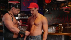 Tom Of Finland: Leather Bar Initiation - Dirk Caber, Kurtis Wolfe American Nail
