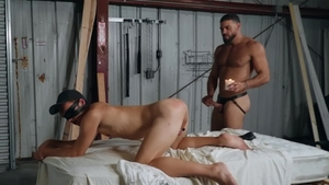 Bromo: Ricky Larkin fucked by twink Bar Addison