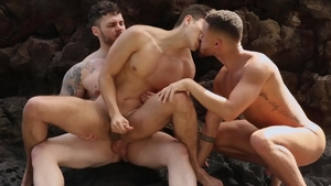 DrillMyHole.com - Muscle Matthew Camp desires rough nailing
