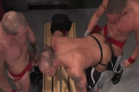 Jake Deckard, Tyler Saint And Scott Tanner 3some