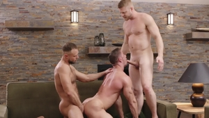Icon Male - Tattooed huge dick Zayne Roman spanking