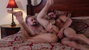 IconMale.com - Mason Lear blowjob cum sex scene