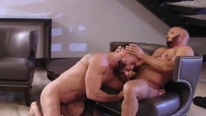 NoirMale.com - Gay Ricky Larkin really enjoys hard slamming