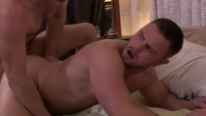 IconMale: Big cock Nick Sterling anal fucking