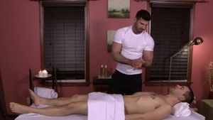 IconMale.com: Muscled Billy Santoro blowjob cum