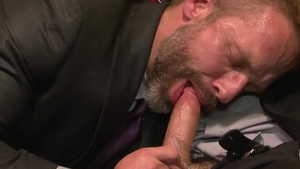 Icon Male - Dirk Caber feels up to sloppy fucking